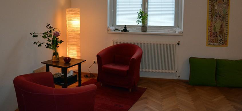 Praxisraum für Psychotherapie in Mödling